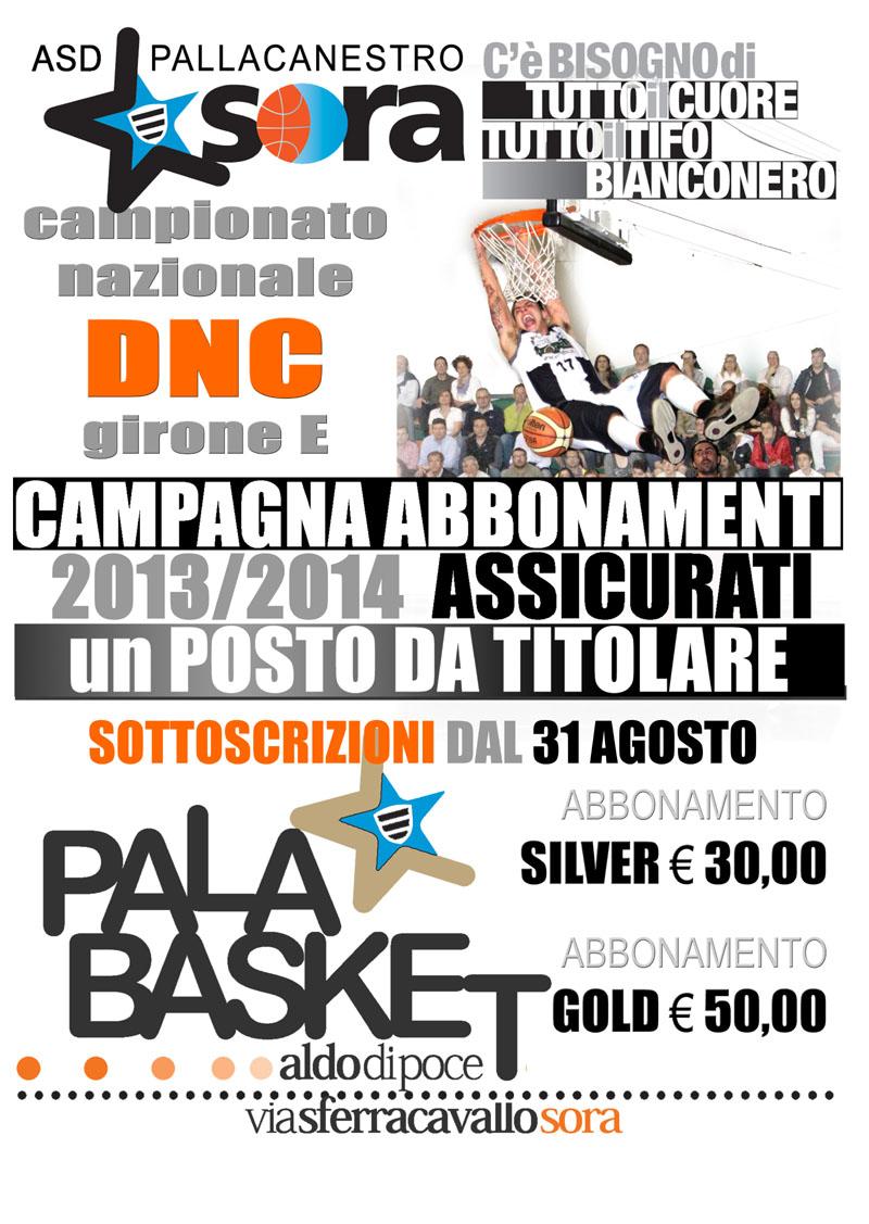 campagna abbonamenti 2013-2014
